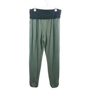 Anthropologie | Green Lounger Pants